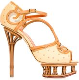 Charlotte Olympia 'I Dream Of Africa' sandals - women - Leather - 37