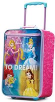 "American Tourister Disney Princess ""Dare to Dream"" 18-Inch Wheeled Carry-On by"