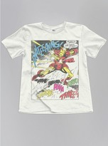 Junk Food Clothing Kids Boys Iron Man Tee-sugar-xl