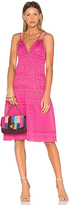 M Missoni Sleeveless Midi Dress in Pink