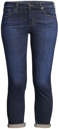 AG Jeans Prima Low-Rise Crop Cigarette Jeans