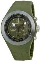 MOMO Design Mirage Chronograph Dak Green Dial Watch
