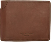 Rag & Bone Brown Bifold Wallet