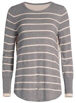 Thumbnail for your product : NIC+ZOE, Petites Striped Crewneck Sweater