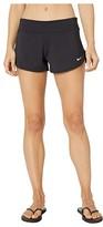 Nike Essential Cover-Up Shorts (Black) Women's Swimwear