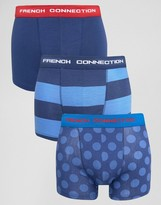 French Connection 3 Pack Trunks
