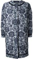 Ermanno Scervino floral brocade coat - women - Silk/Nylon/Polyester - 40