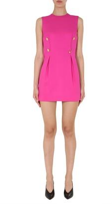 Versace Round Neck Dress