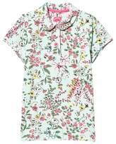 Joules Mint-Green Flower Print T-shirt