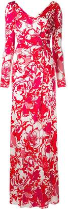 Roberto Cavalli Floral Sketch Dress