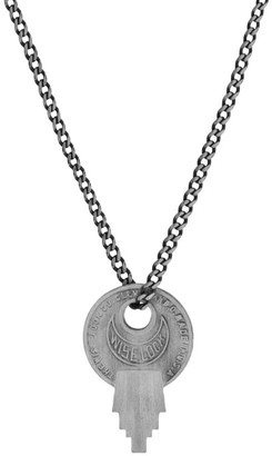 Miansai Wise Lock Sterling Silver Necklace