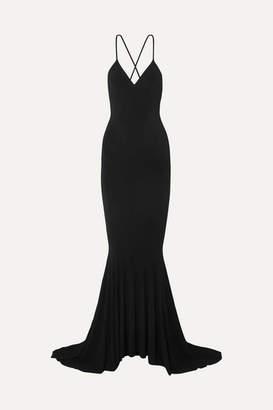 Norma Kamali Stretch-jersey Maxi Dress - Black