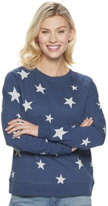 Sonoma Goods For Life Petite Everyday Print Sweatshirt