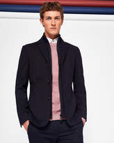 Ted Baker ROY Jersey jacket with inner funnel neck