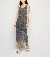 New Look Ditsy Floral Smock Dress