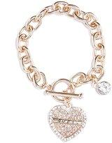 GUESS Heart Logo Bracelet