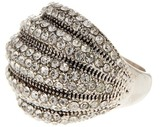 Ariella Collection Dimensional Crystal Pave Ring