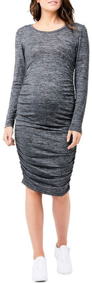 Ripe Textured Knit Cocoon Dress