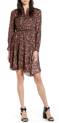 AllSaints Martina Ambient Long Sleeve Dress
