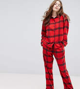 Monki Check Pajama Set