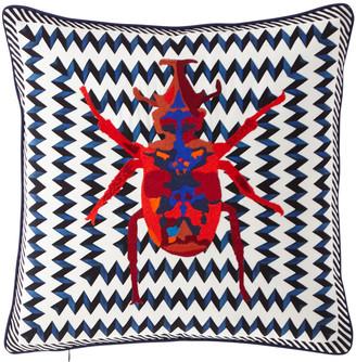 Christian Lacroix Beetle Waves Oeillet Pillow