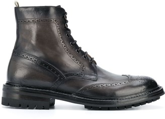 Officine Creative Lace Ankle Boots