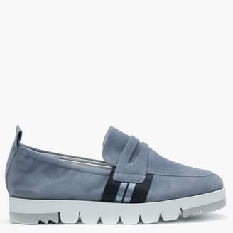 Kennel + Schmenger Kennel & Schmenger Cleeve Blue Suede Sporty Loafers