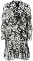 Just Cavalli ruffled mini dress