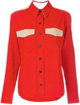 Calvin Klein double woven twill shirt