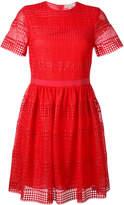 MICHAEL Michael Kors lace detail shift dress
