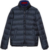 Gucci GG jacquard quilted nylon jacket