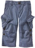Gap Cargo roll-up pants