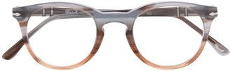 Persol Gradient Round Frame Glasses