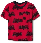 Gap Print short sleeve pocket tee