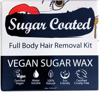 Sugar Coated Full Body Hair Removal Kit 250Ml