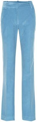 Victoria Beckham High-rise corduroy straight pants