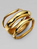 Kara by Kara Ross Wave Bangle Bracelet Set