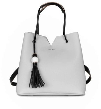 Pixie Mood Jasmine Bag With Marble Tassel - Grey