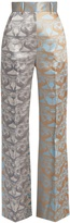 Sophie Theallet Waleska high-rise silk-mikado trousers
