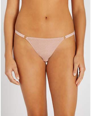Myla Honey Lane stretch-mesh briefs