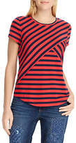 Chaps Petite Striped Jersey T-Shirt