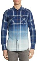 Diesel Courty Dipdye Flannel Shirt