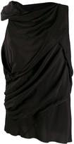 Rick Owens draped blouse
