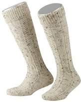 Lusana Boy's Kinder-Kniebundstrumpf Loden Tweed Knee-High Socks,5