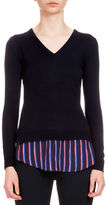Altuzarra Colbert Long-Sleeve Trompe l'Oeil Sweater