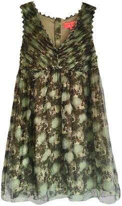 Manoush Green Silk Dress for Women