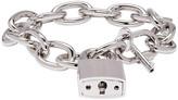 DSQUARED2 Silver Lock Chain Bracelet