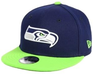 New Era Boys' Seattle Seahawks Two Tone 9FIFTY Snapback Cap