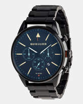 Quiksilver Mens The Timebox Chronograph 48mm Stainless Steel Watch