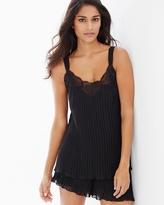 Soma Intimates Pleated Tap Pajama Set Black